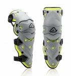 Наколенники Acerbis Impact Evo 3.0 grey-yellow