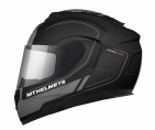 Шлем MT ATOM SV RACELINE EVO MATT BLACK/GREY